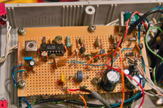 The IF amplifier/Demodulator/Audio amplifier                   board.