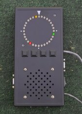 Front panel                 view of the Montreal Doppler I with alternate firmware