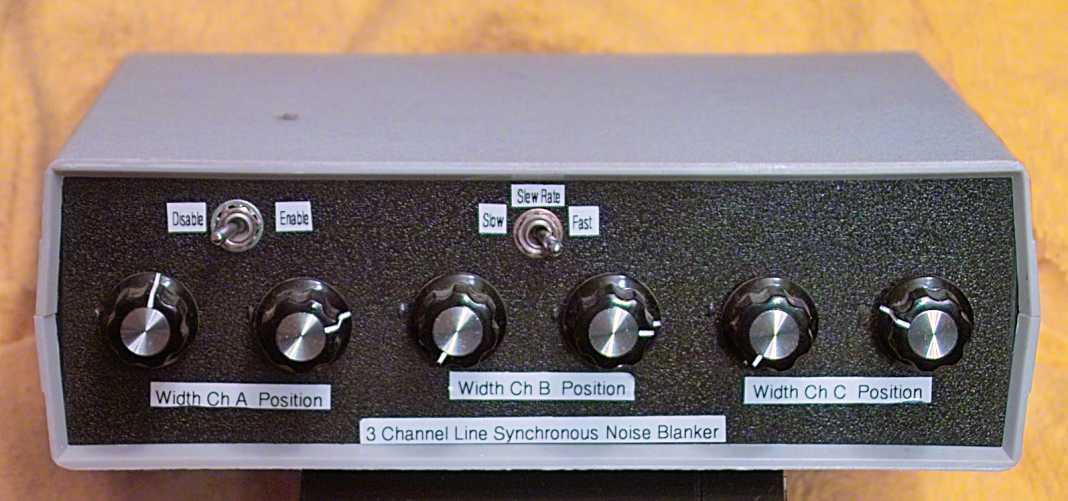 Line-Synchronous Noise Blanker