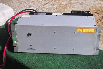 Front view of the 300 watt Vocom power amplifer